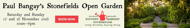 Paul Bangay's Stonefields Open Garden 17-8 November 2018